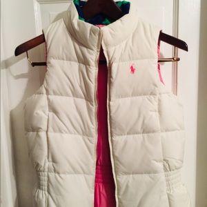 Ralph Lauren Polo Puffer Vest Girls